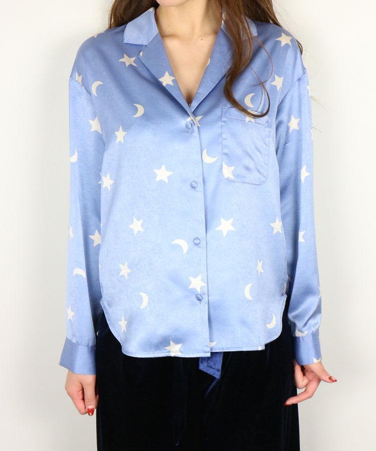 DEICY ( デイシー ) 星柄オープンカラーシャツ.jpg