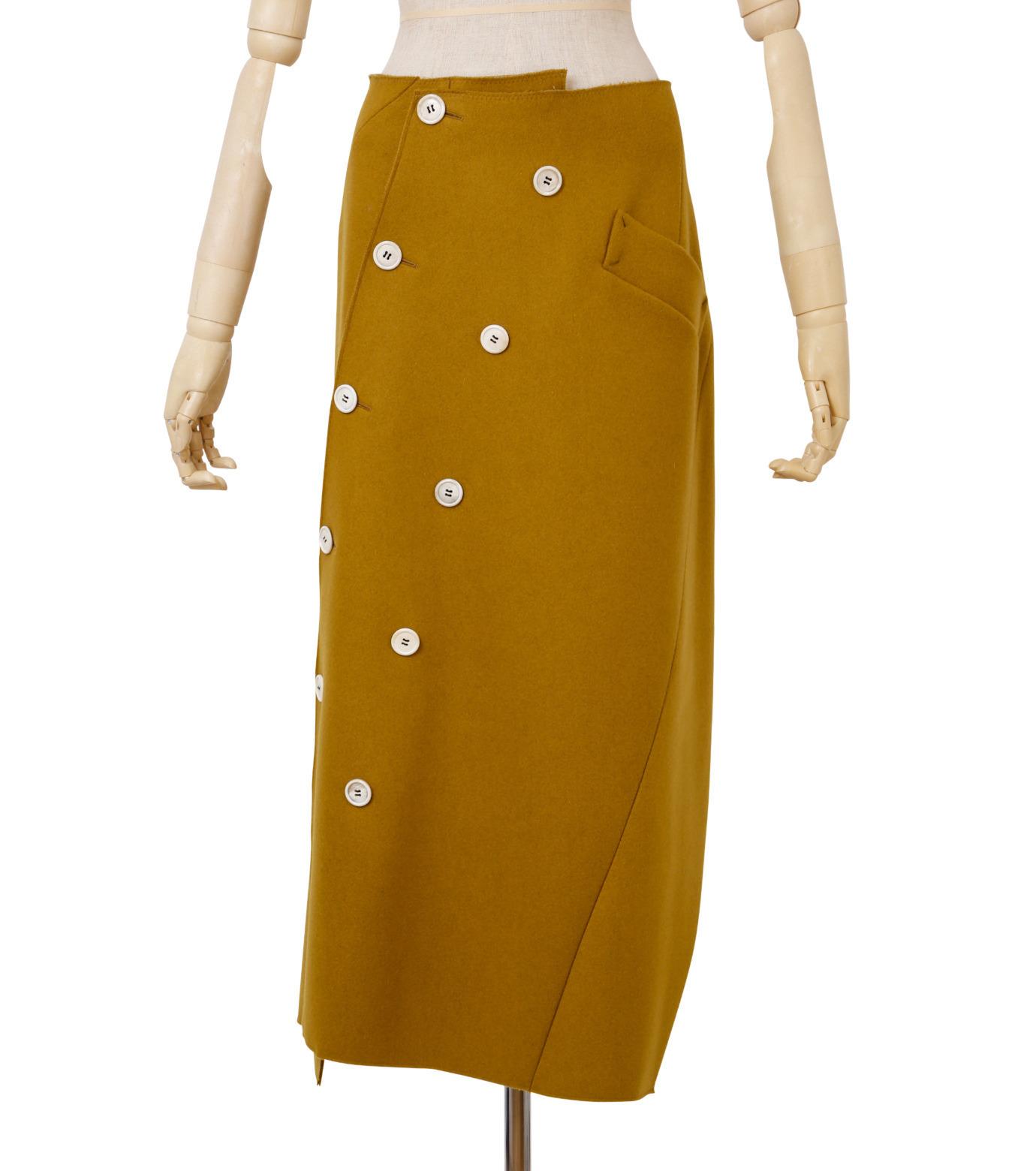 IRENE (アイレネ) ツイストボックスコートラップスカート.jpg