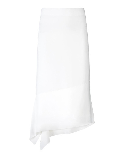 Joseph(ジョセフ)Women's White Viscose Cady Leo Skirt.jpeg