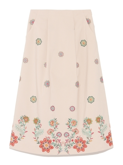 Lily Brown (リリーブラウン) 刺繍ロングスカート.jpg