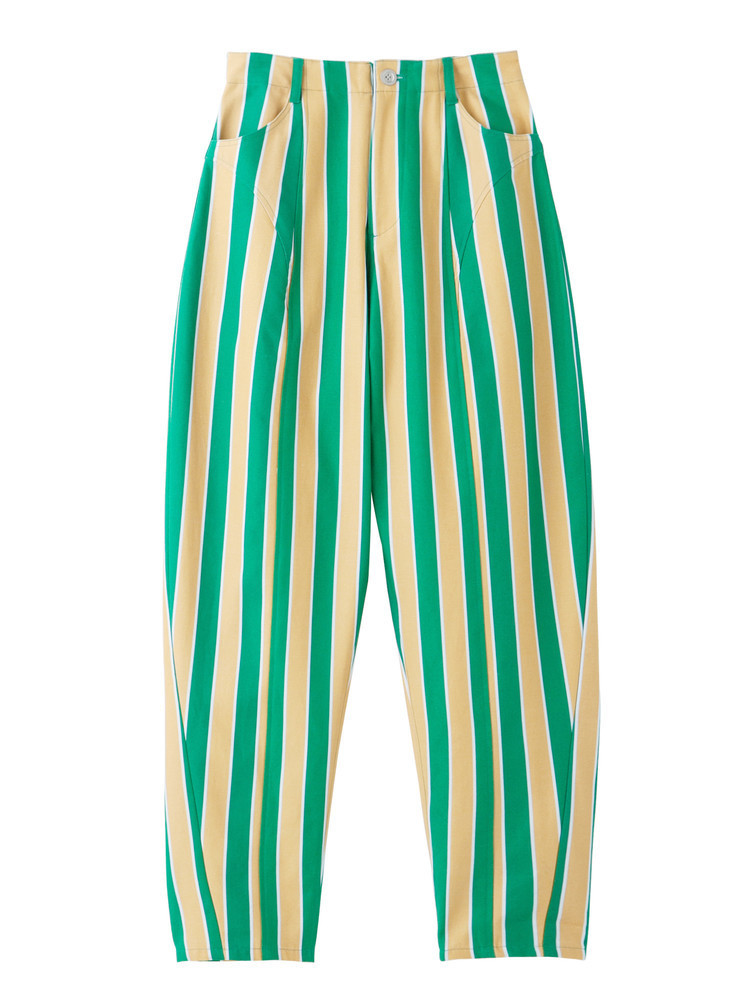 PAMEO POSE(パメオポーズ)STRIPE TAPERD PANTS.jpg