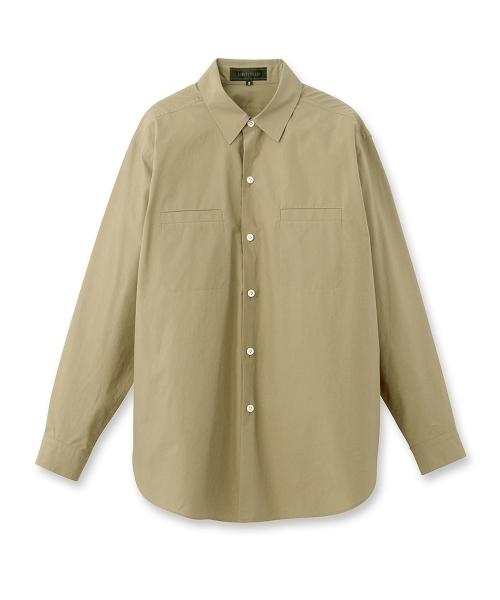 UNTITLED(アンタイトル)[L]ビッグフォルムコットンシャツ.jpg