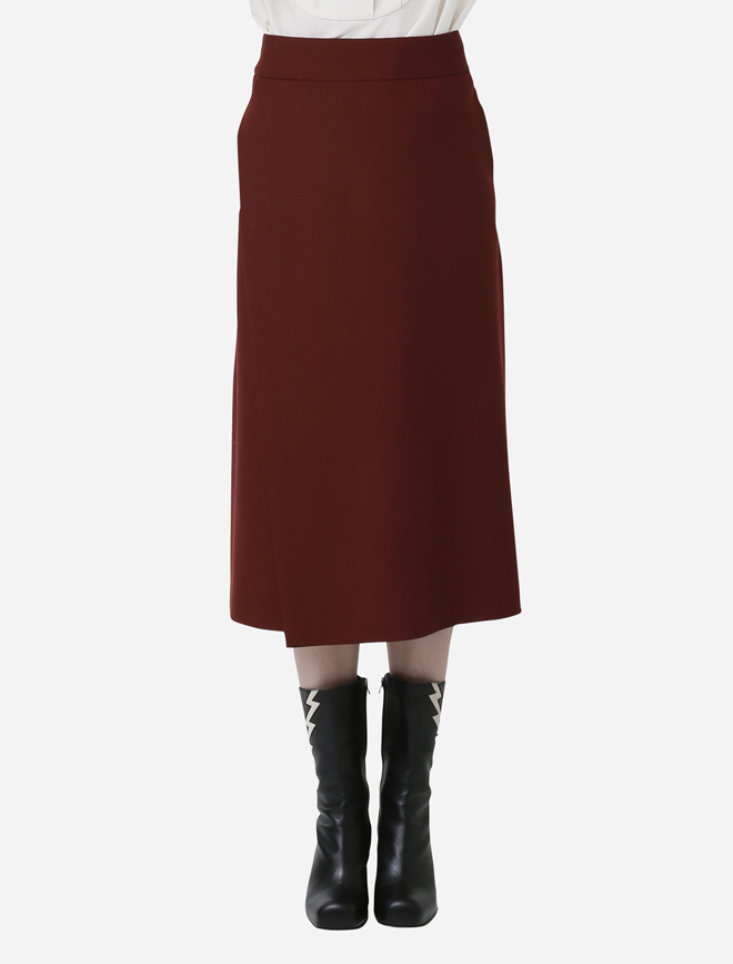beautiful people(ビューティフルピープル) wool w cloth semi falare skirt.jpg